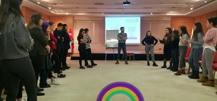 During The Combat Against Violence Against Women Week, We Were In Universities for The Workshops on Gender Equality in IyaGender
